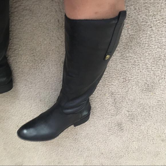 9b1997e35b135 Sam Edelman Penny 2 Wide Calf Boots. M 5ad190cb2c705d397137fcc8